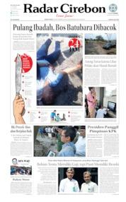 Cover Radar Cirebon 16 September 2019