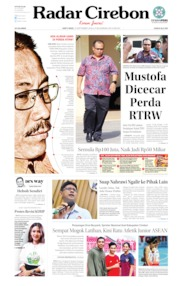 Radar Cirebon Cover 21 September 2019
