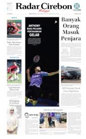 Radar Cirebon Cover 22 September 2019