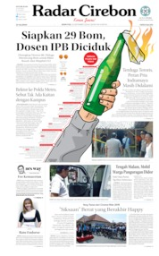 Radar Cirebon Cover 30 September 2019