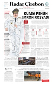 Radar Cirebon Cover 01 October 2019