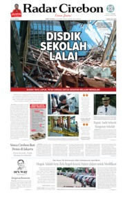 Radar Cirebon Cover 02 October 2019