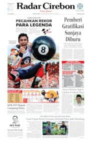 Radar Cirebon Cover 07 October 2019