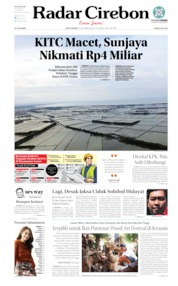 Radar Cirebon Cover 09 October 2019