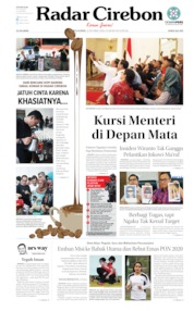 Radar Cirebon Cover 12 October 2019