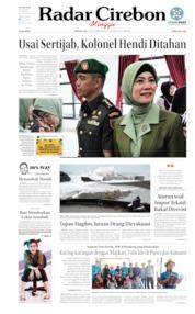 Cover Radar Cirebon 13 Oktober 2019