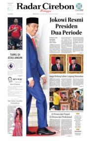 Cover Radar Cirebon 20 Oktober 2019