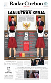 Radar Cirebon Cover 21 October 2019