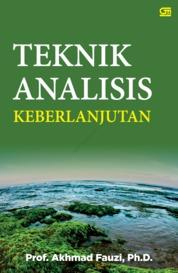 Cover Teknik Analisis Keberlanjutan oleh Akhmad Fauzi