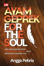 Cover Ayam Geprek for The Soul oleh Angga Pebria Wenda M