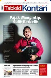 Cover Majalah Kontan ED 16 Januari 2018