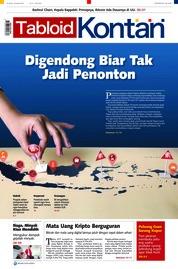 Cover Majalah Kontan ED 17 Januari 2018