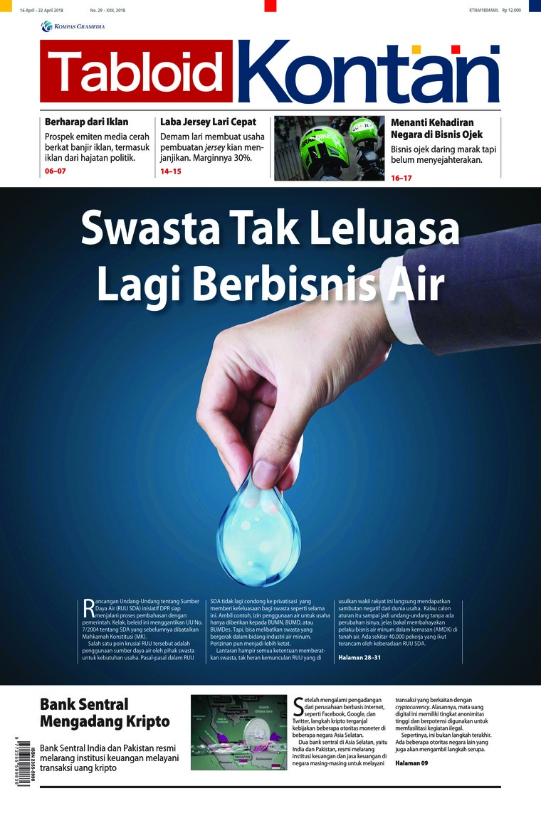 Majalah Digital Kontan ED 29 April 2018