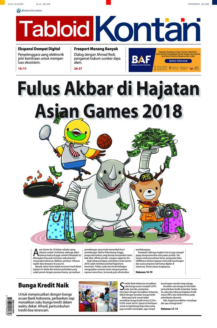 Majalah Digital Kontan ED 42 Juli 2018