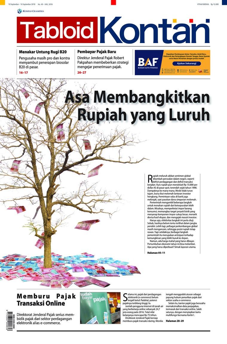 Majalah Digital Kontan ED 49 September 2018