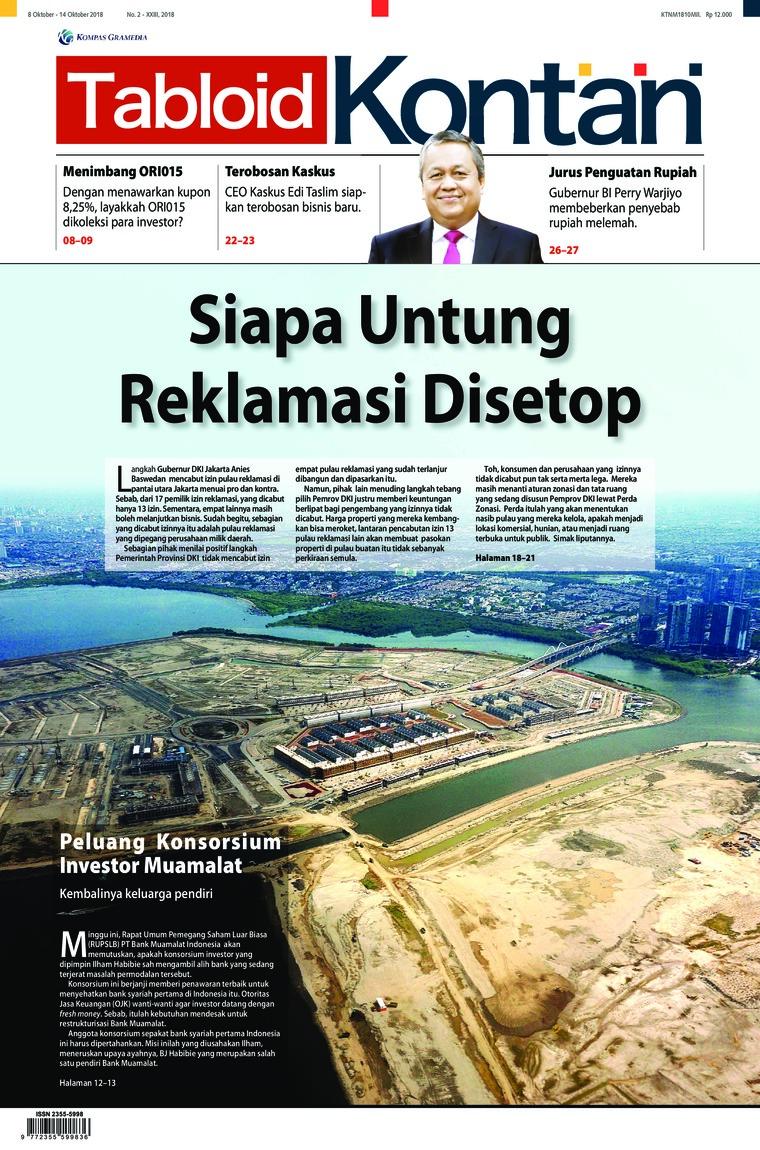 Majalah Digital Kontan ED 02 Oktober 2018