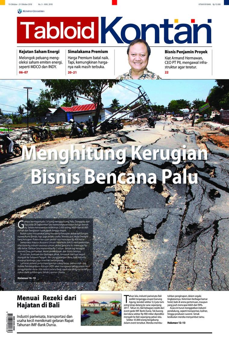 Majalah Digital Kontan ED 03 Oktober 2018