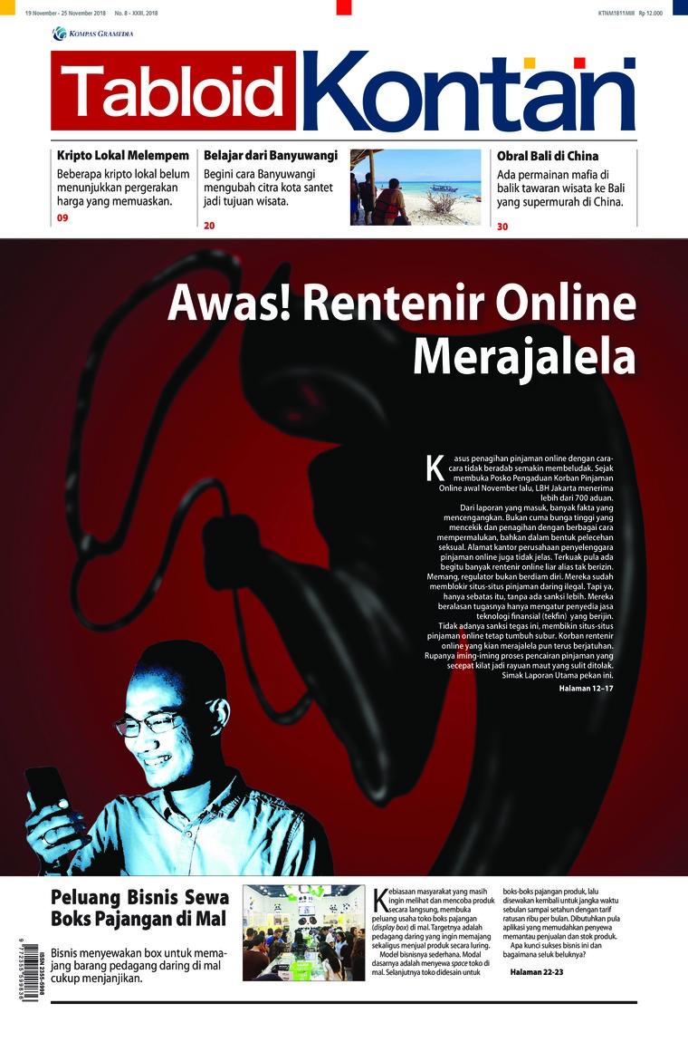 Majalah Digital Kontan ED 08 November 2018