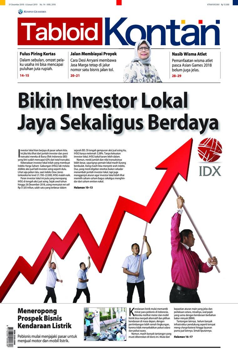 Majalah Digital Kontan ED 14 Desember 2018