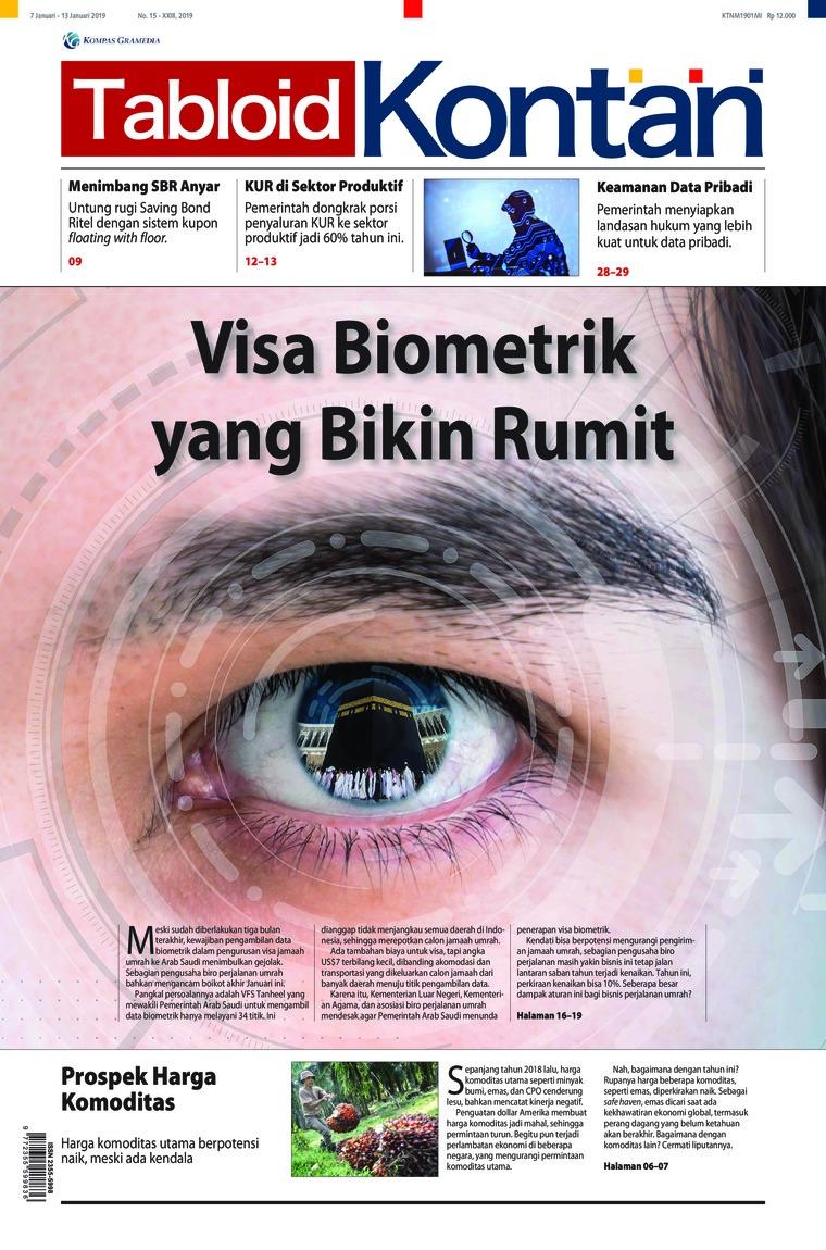 Majalah Digital Kontan ED 15 Januari 2019