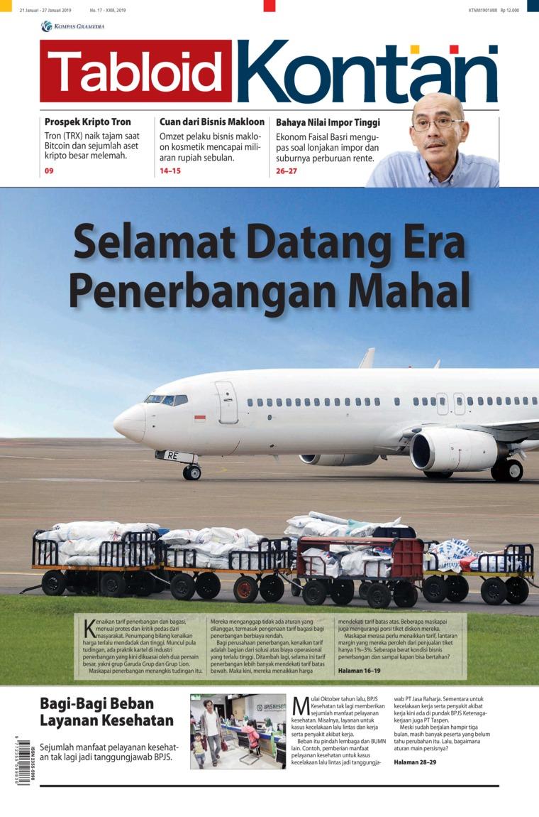 Majalah Digital Kontan ED 17 Januari 2019