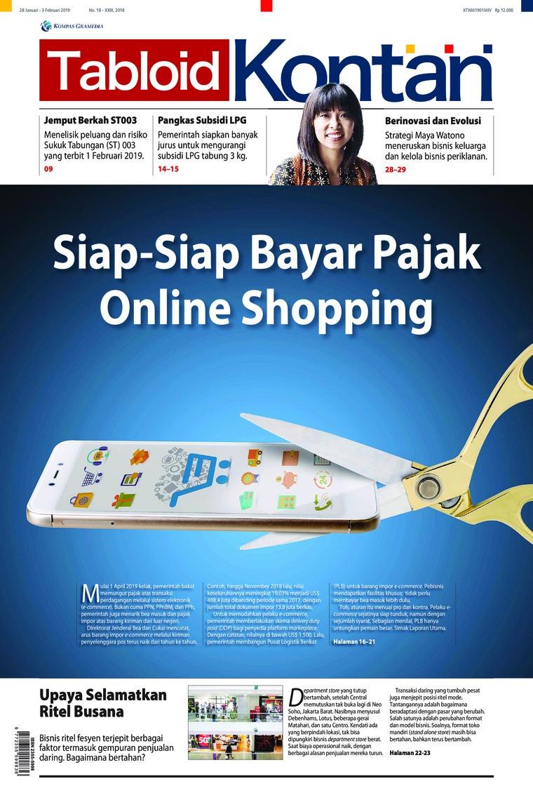 Majalah Digital Kontan ED 18 Januari 2019