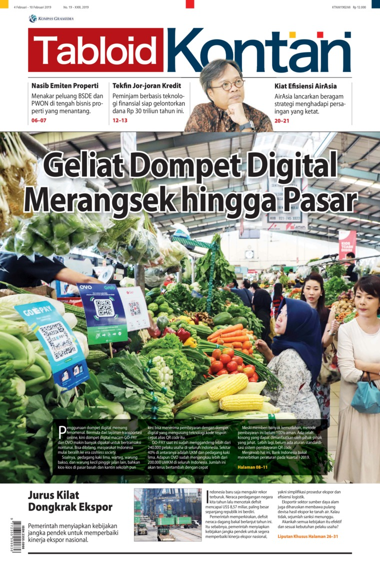 Kontan Digital Magazine ED 19 February 2019
