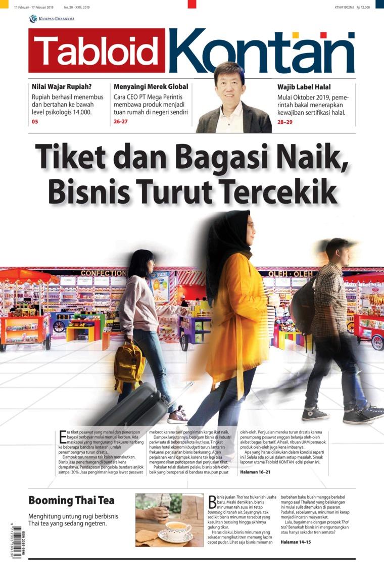 Majalah Digital Kontan ED 20 Februari 2019