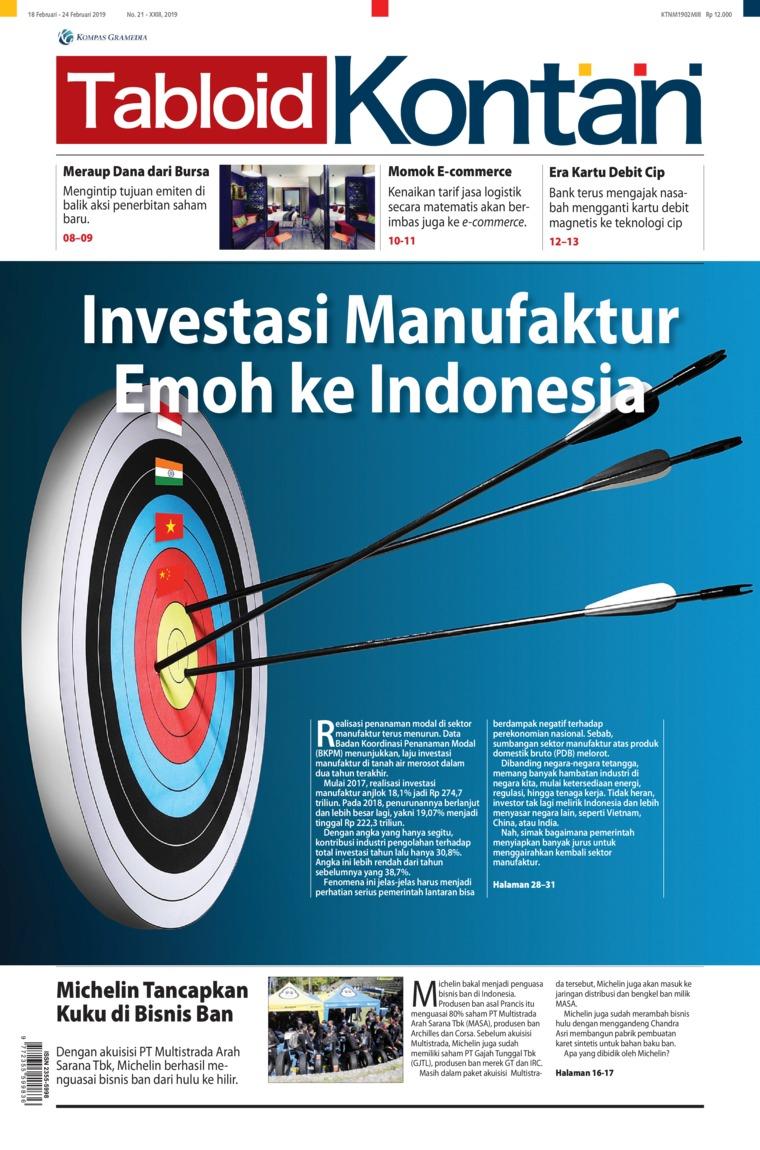 Majalah Digital Kontan ED 21 Februari 2019