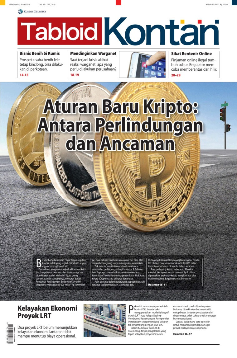 Majalah Digital Kontan ED 22 Februari 2019