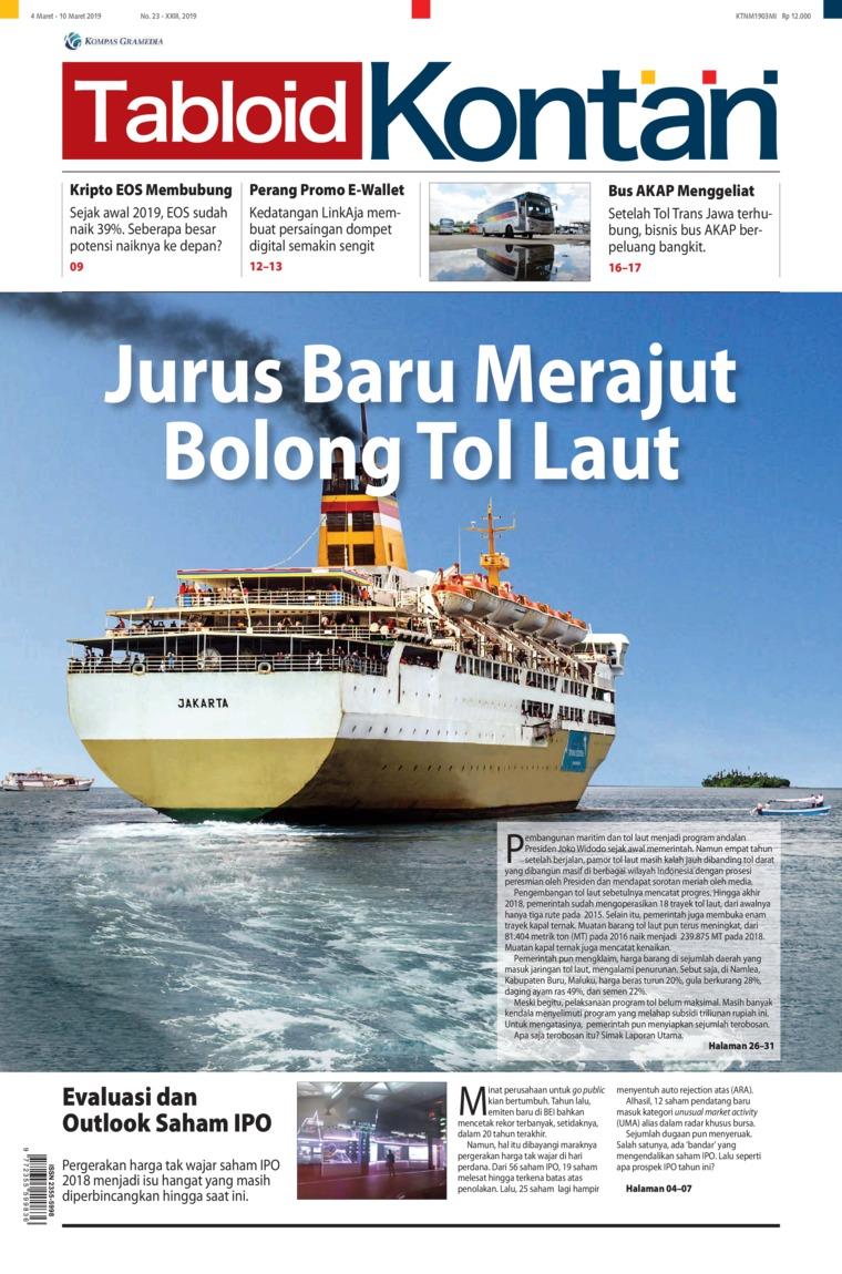 Majalah Digital Kontan ED 23 Maret 2019