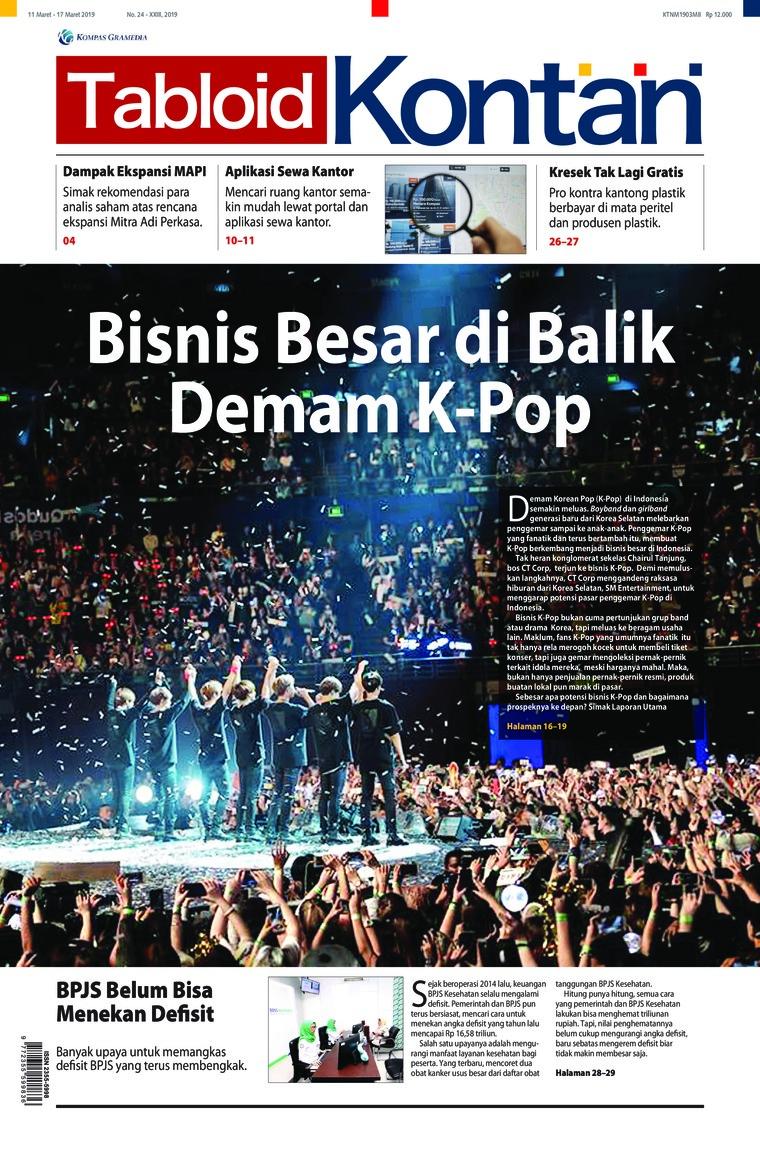 Majalah Digital Kontan ED 24 Maret 2019