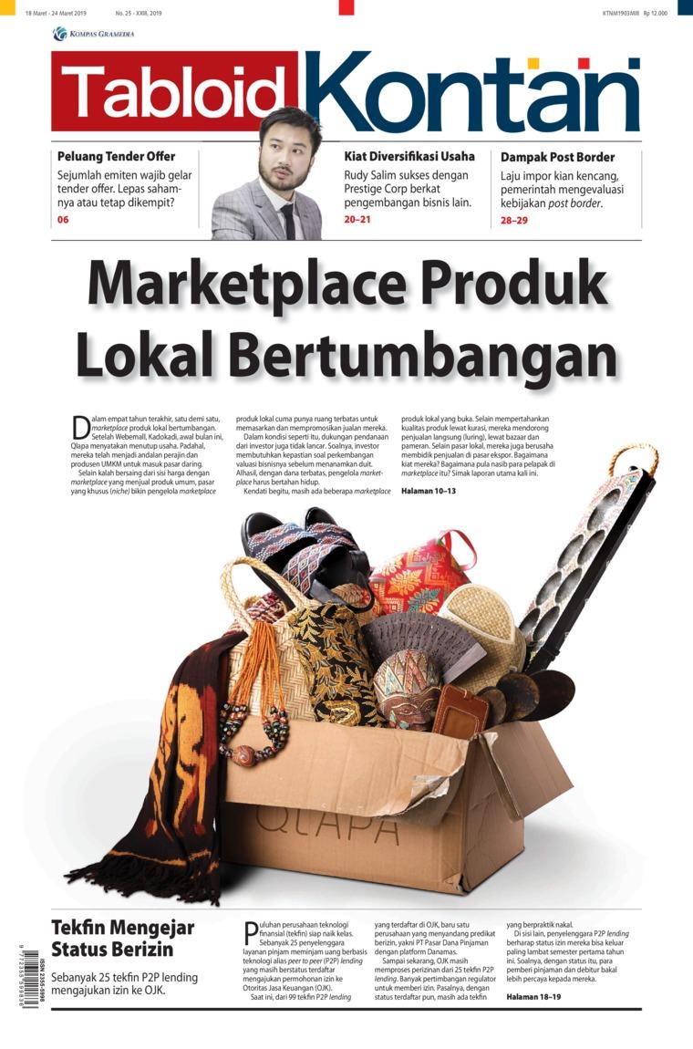 Majalah Digital Kontan ED 25 Maret 2019