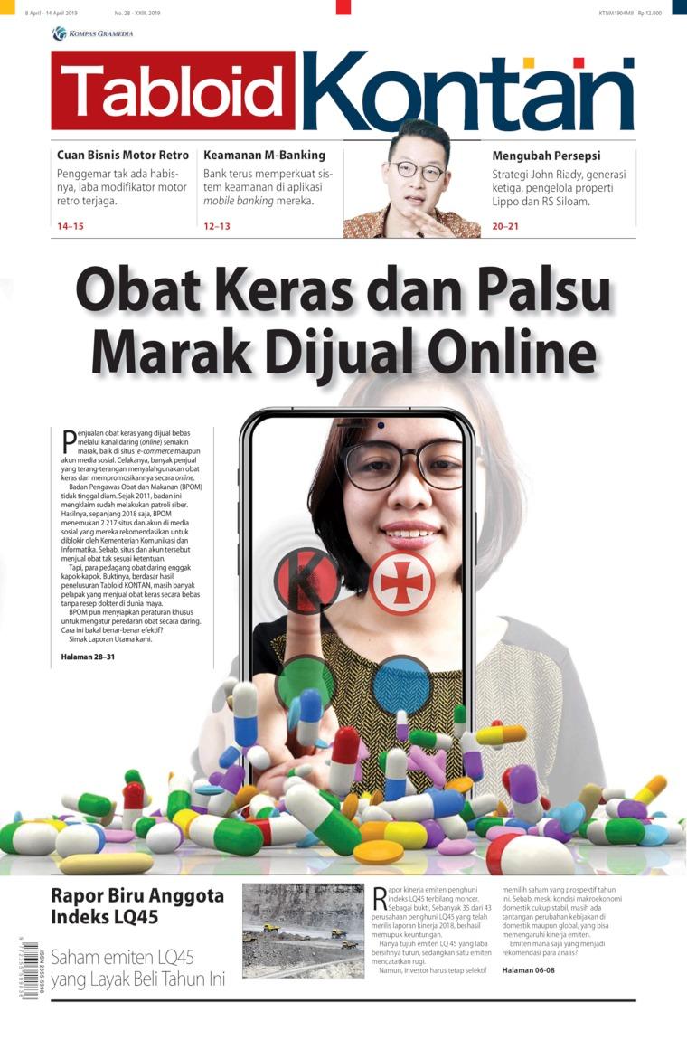 Majalah Digital Kontan ED 28 April 2019