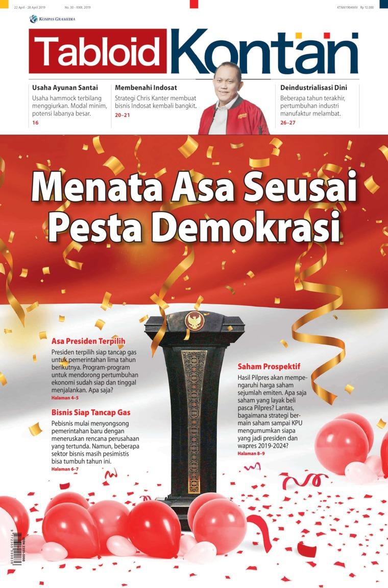 Majalah Digital Kontan ED 30 April 2019