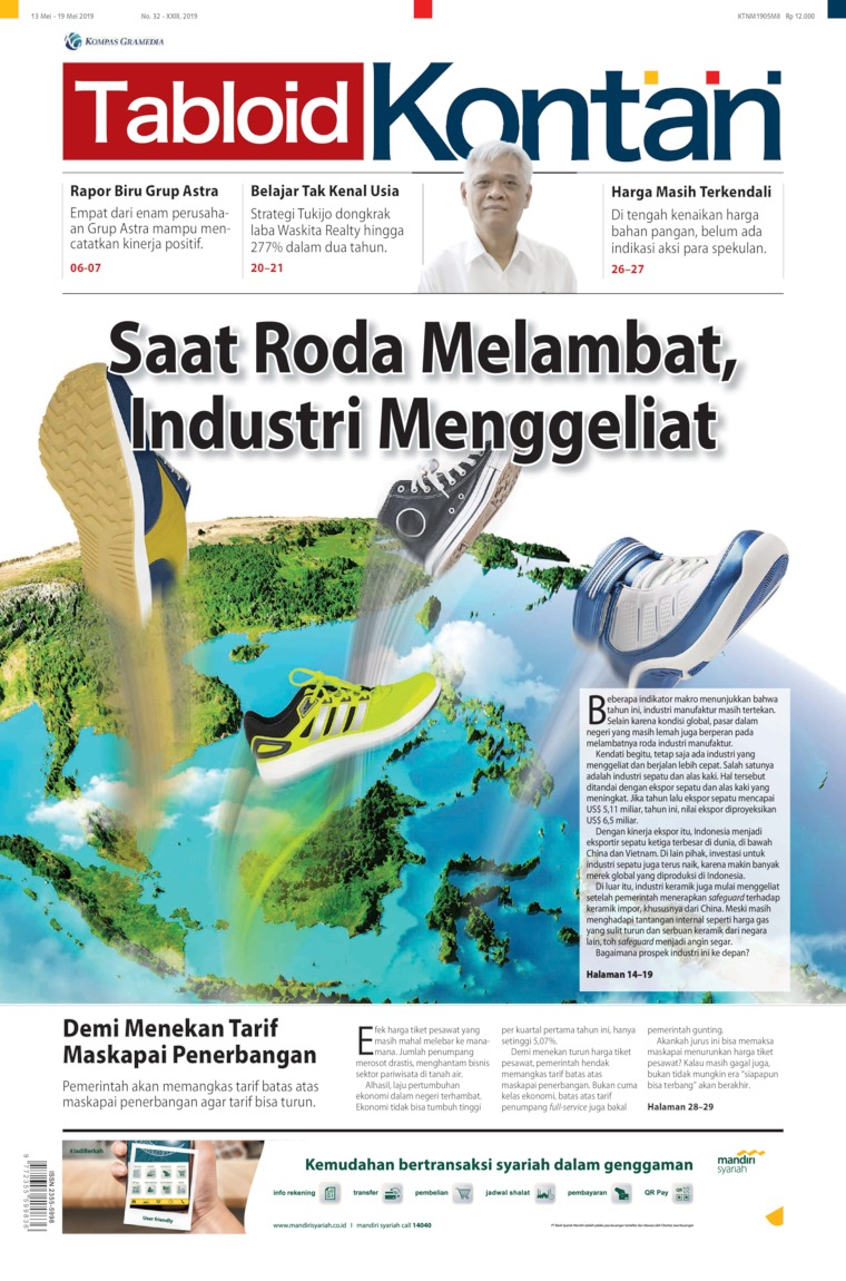 Majalah Digital Kontan ED 33 Mei 2019