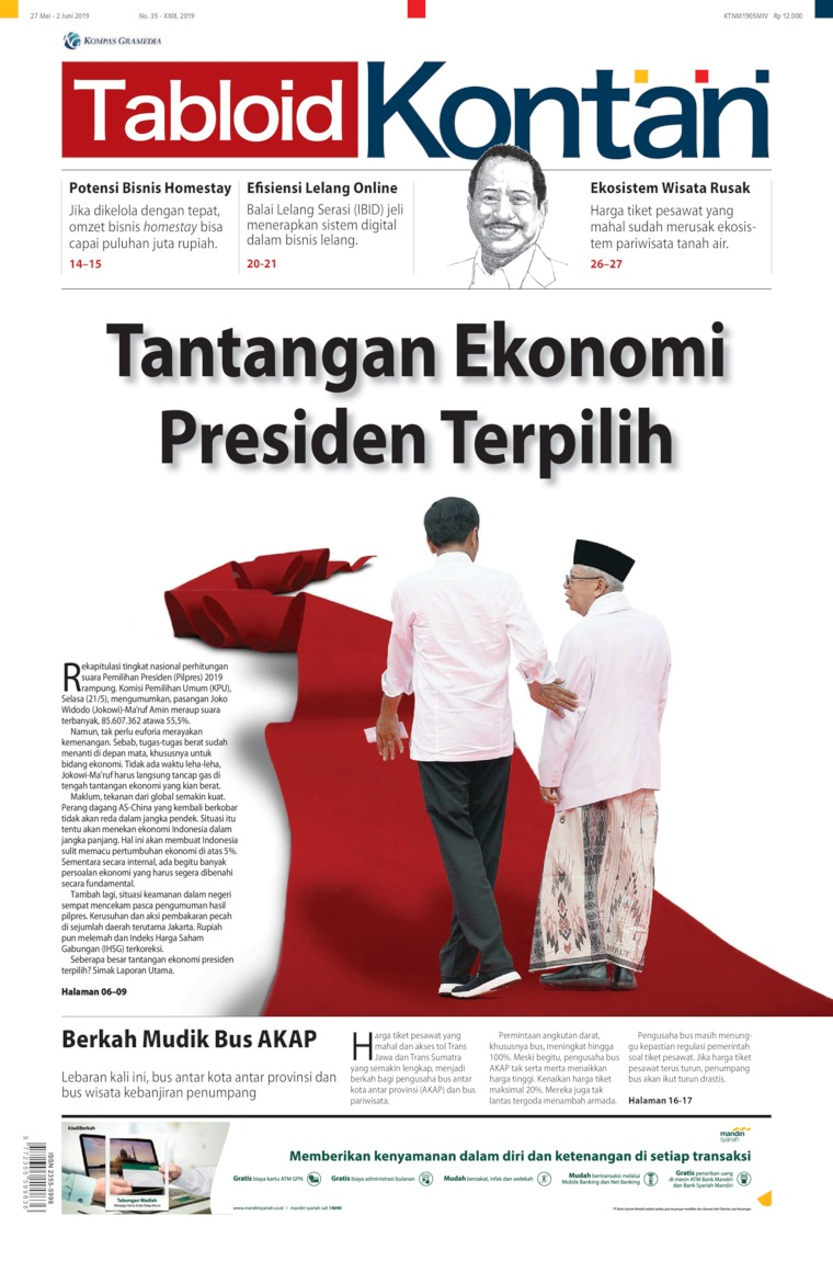 Kontan Digital Magazine ED 35 May 2019