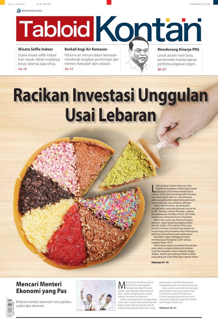 Majalah Digital Kontan ED 36 Juni 2019