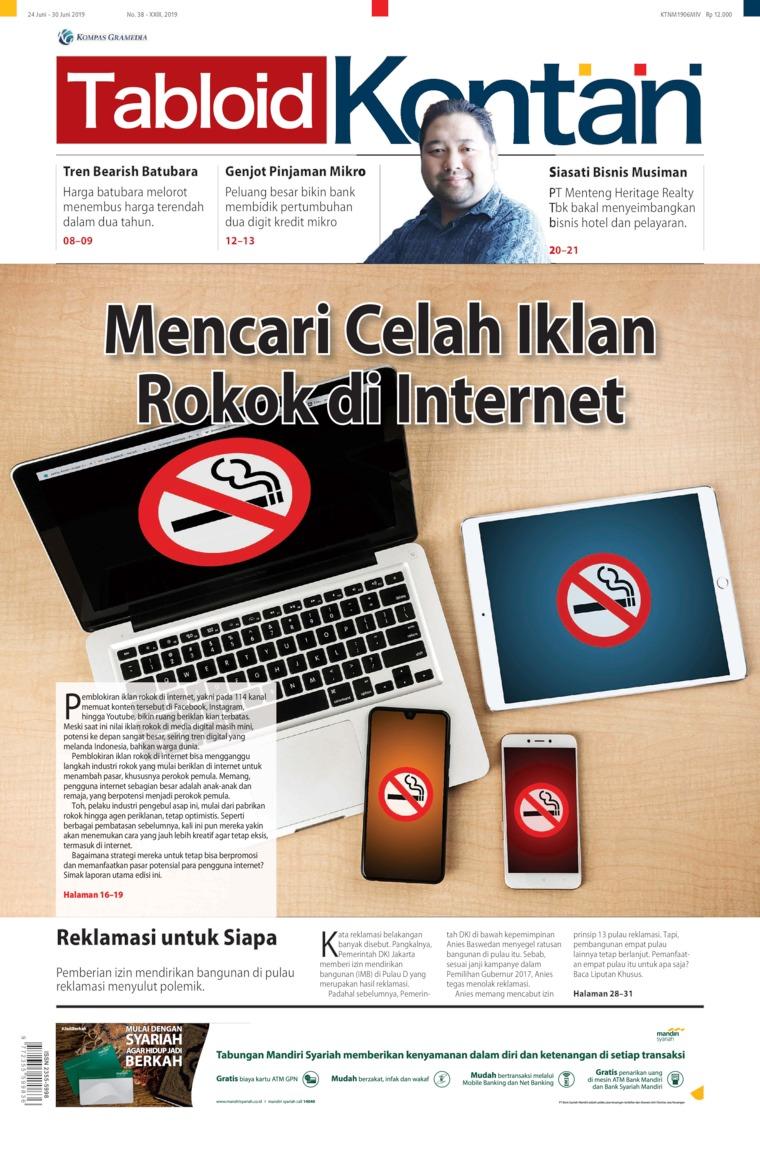 Majalah Digital Kontan ED 38 Juni 2019
