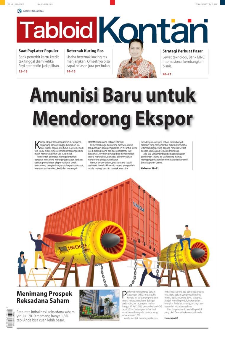 Majalah Digital Kontan ED 42 Juli 2019