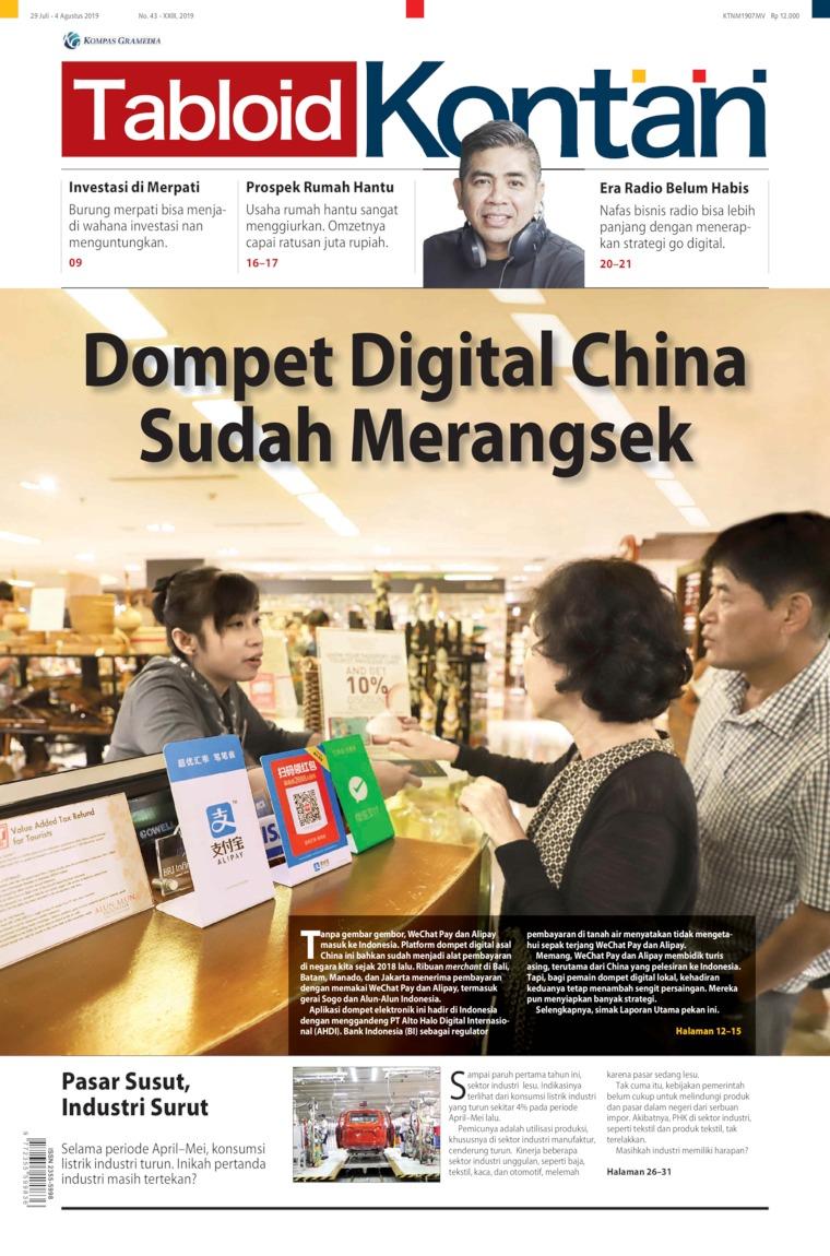 Majalah Digital Kontan ED 43 Juli 2019