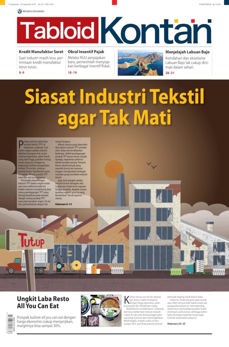 Majalah Digital Kontan ED 50 September 2019