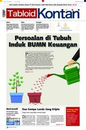 Cover Majalah Kontan ED 20 Februari 2018