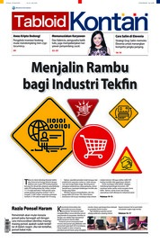 Cover Majalah Kontan ED 25 Maret 2018