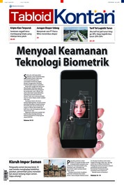 Cover Majalah Kontan ED 27 April 2018