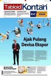 Cover Majalah Kontan ED 45 Agustus 2018