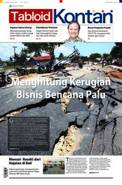 Cover Majalah Kontan ED 03 Oktober 2018