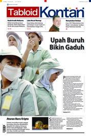 Cover Majalah Kontan ED 05 Oktober 2018