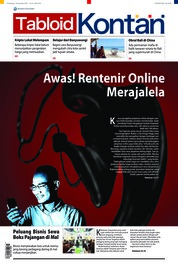 Cover Majalah Kontan ED 08 November 2018