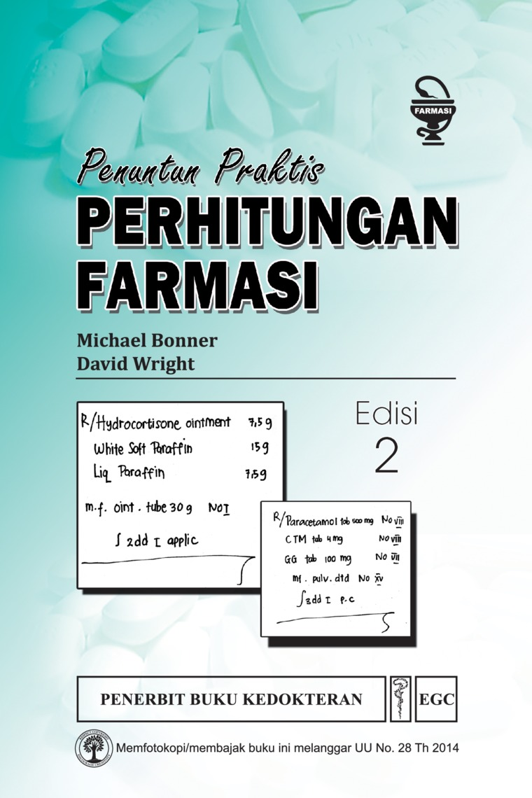 Penuntun Praktis Perhitungan Farmasi Edisi 2 by Michael Bonner Digital Book